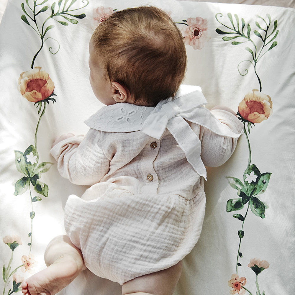 Elodie beebi kaelarätt Embroidery Anglaise