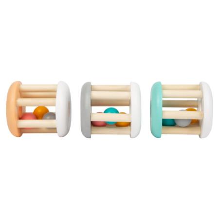 Beebi kõristid puidust - pastelsed